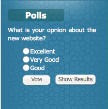 The Arab League's website user poll is pretty much what you'd expect it to be. http://t.co/ZuVzH86xUd http://t.co/tCWguz0TFV