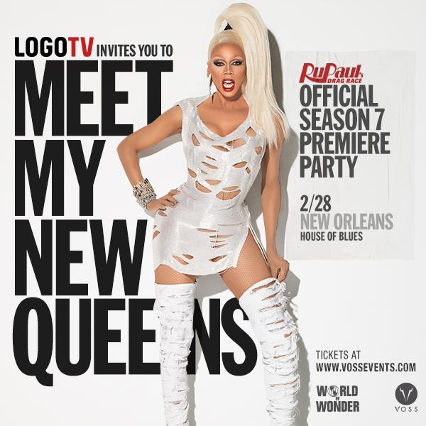Hey New Orleans! See you Saturday at the #RupaulsDragRace S7 Premiere Party at @HOBNOLA. TIX: http://t.co/ReUpPhW3zN http://t.co/2ojyxLEyMJ