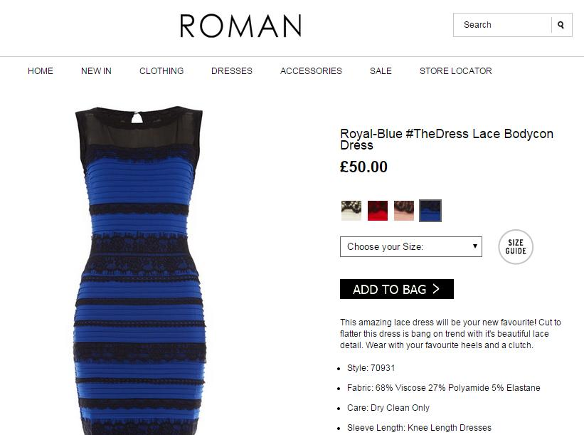 Size 6 blue dress viral