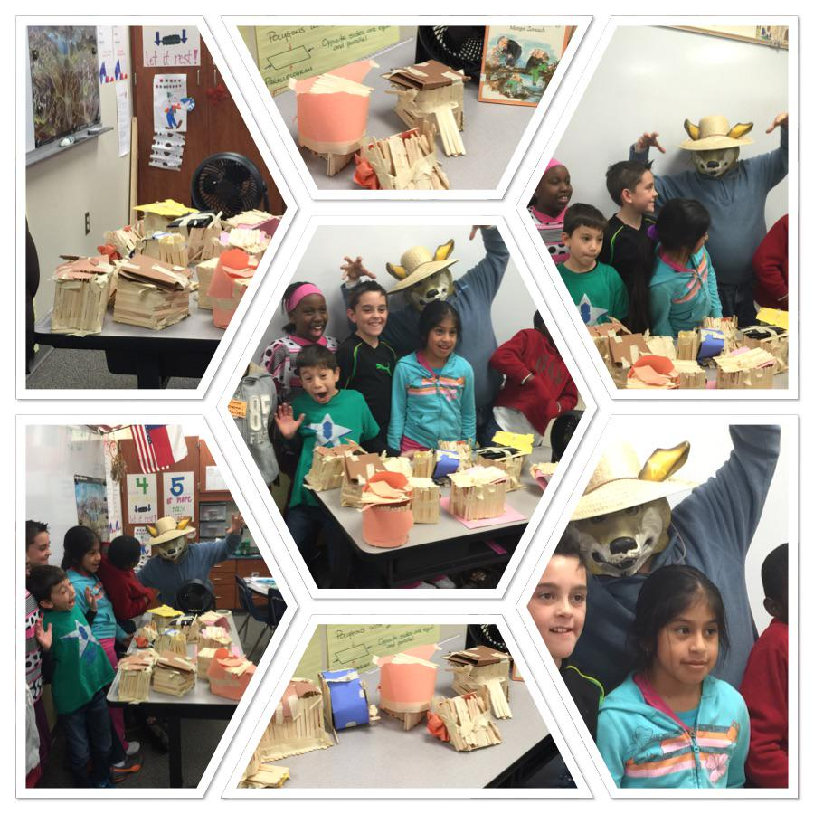 Big bad wolf! Can your pig house withstand different strengths of wind? #engineeringweek #siglerlearns http://t.co/5SzbuefXoY