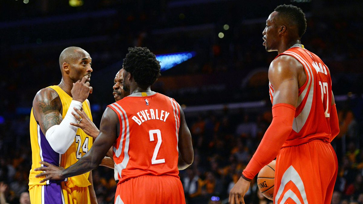 Dwight Howard與球迷在網上互動,認為Kobe Bryant是史上第二佳得分後衛,James Harden是最佳左手球員。
