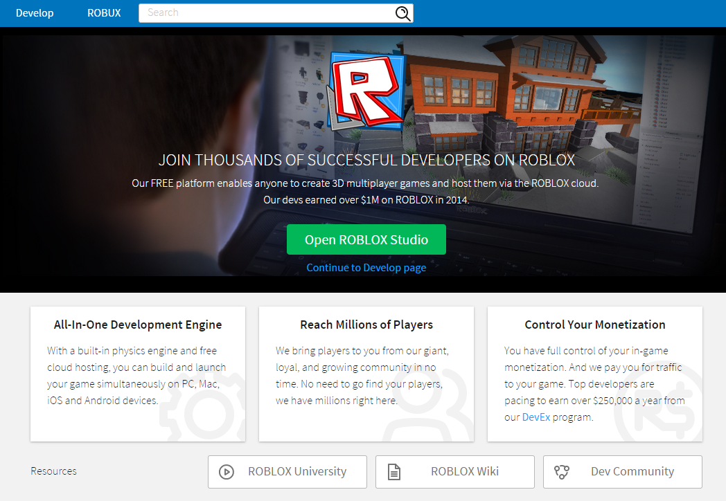 Seranok On Twitter Roblox Customized The Develop Page For New Users Log Out To See It Http T Co Ghxzxqzwlh Http T Co Ghsazbexbk