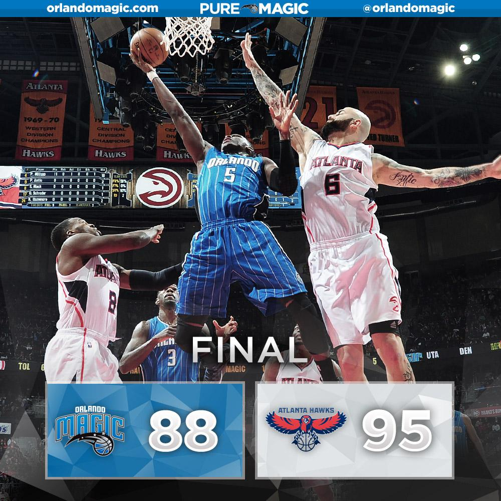 Resultado Atlanta Hawks - Orlando Magic (95-88) | VAVEL.com