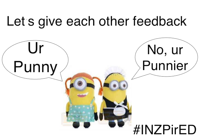 Discuss ways to give feedback with @DJCE57 & @rsehji or...not to on #INZPirED  in one hour #satchat #sunchat #edchat http://t.co/LsxxLjAKXo