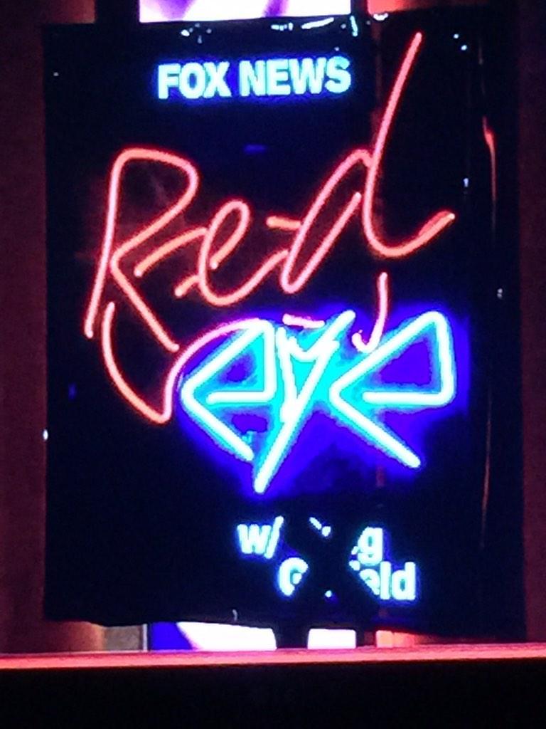 Don't like the X over @greggutfeld 's name. #RedEye http://t.co/LHv96QC2rf