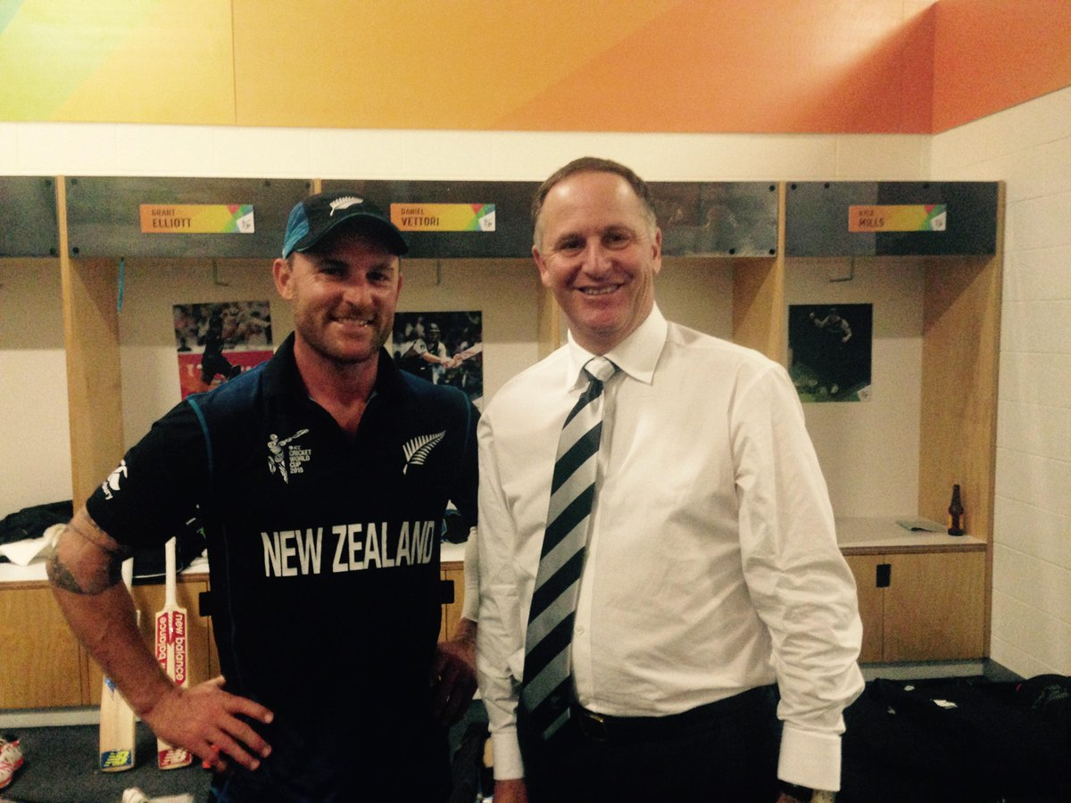 Congratulations to Brendon and the boys! Outstanding win for the @BLACKCAPS. http://t.co/OMPSLc0uau