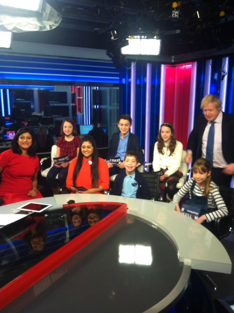 Great questions today from the FirstNews panel on @SkyNews as part of the brilliant Stand Up and Be Counted campaign http://t.co/jpLK3n9W6M