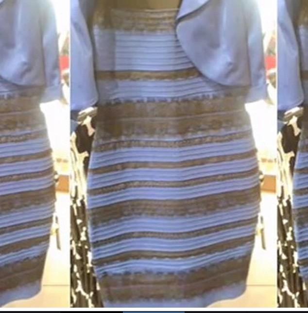 Vilken färg på klänningen