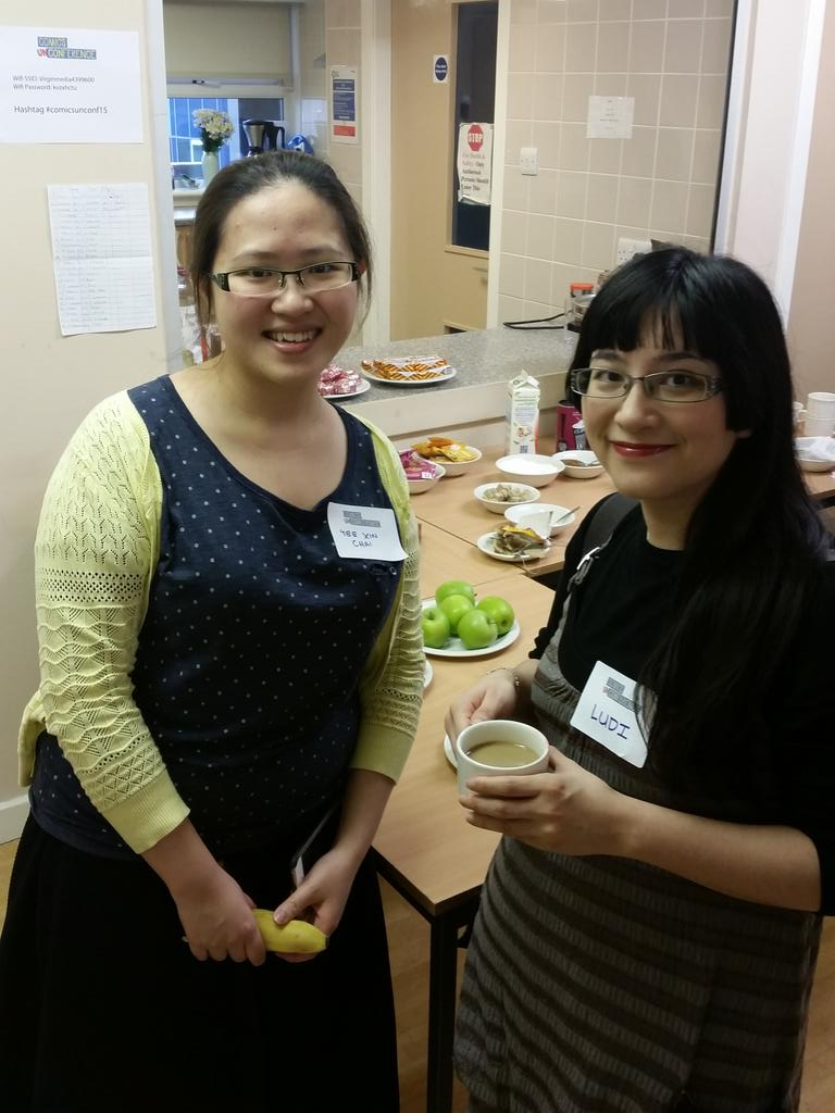 #citylis well represented with @YXchai and @LudiPrice  @ComicsUnconf! #comicsunconf15 http://t.co/WzgVI8KZuF