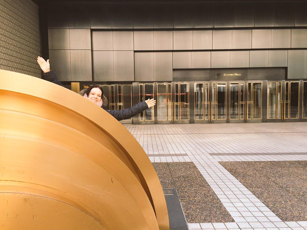 Greetings from Japan! We checked out the entrance to Suntory Hall a few days in advance of the concert there. http://t.co/KExqljJX1s
