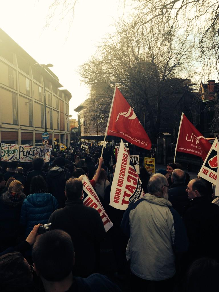 Nice day for an anti-fascist demonstration. #NewcastleUnites http://t.co/0crKtA8AUH