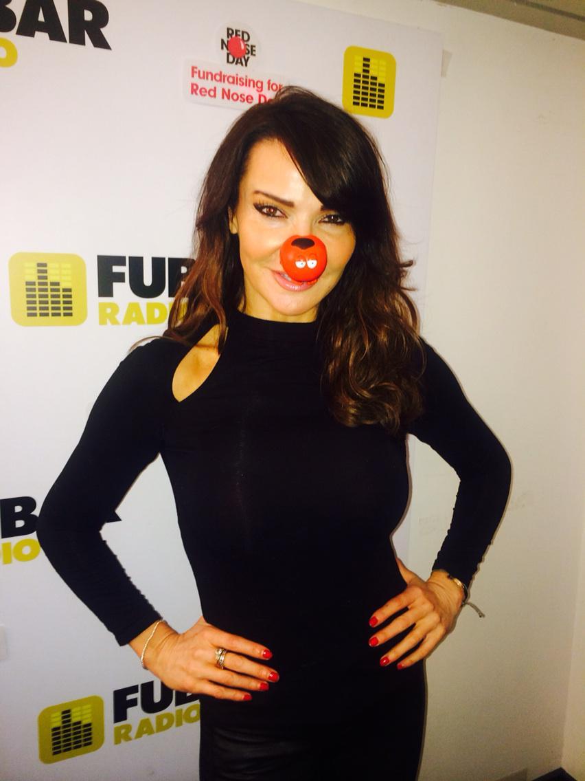 It's @comicRelief for @Fubar Radio let's go !!!! #27hourpod #comicrelief http://t.co/1QyvAWSYr7