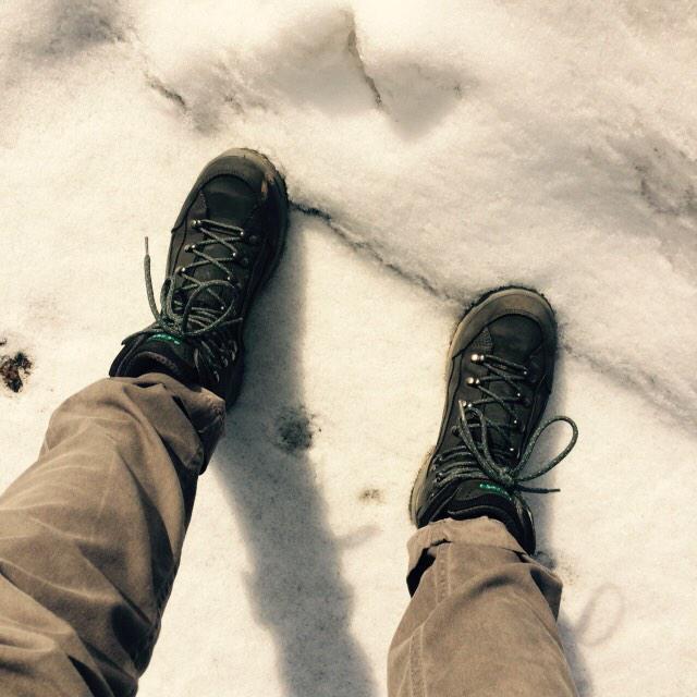 Die Sonne ist da, schnell raus für eine Trainingseinheit #Bloggerwandern 😀 @Wander_Reporter @WellnessTravele http://t.co/6wQxmyO3Jz