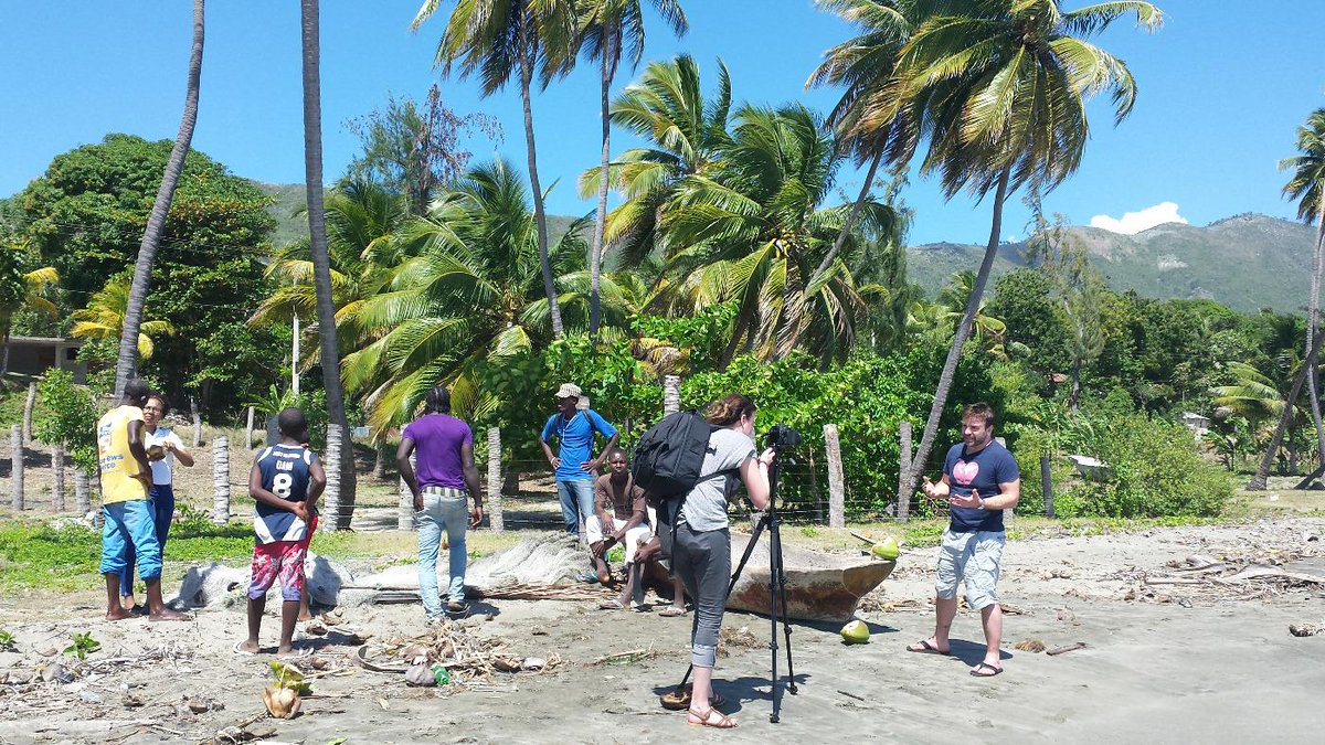Filming a huge THANK YOU from Haiti to all our amazing  WildHearts Supporters @wildheartsteam @MicroTyco http://t.co/0NWn8hnG54