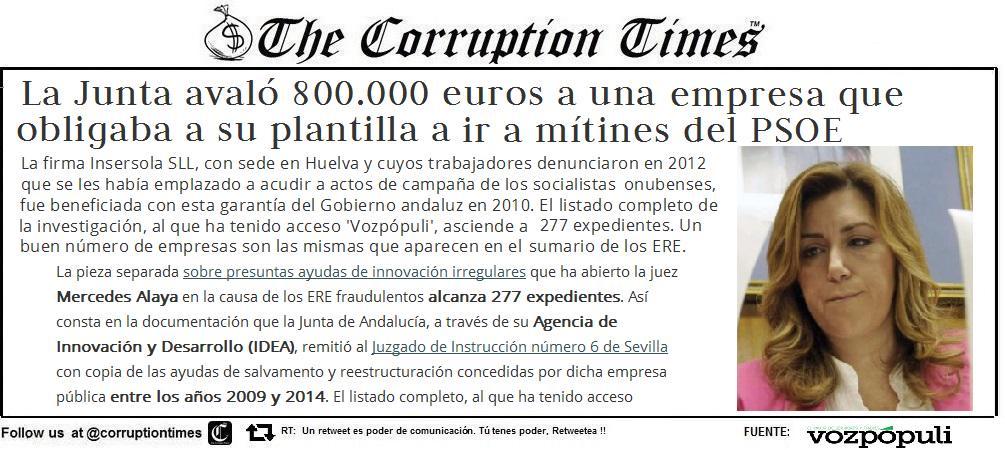 """🇪🇸 ANDALUCÍA: Hoy nos vamos de """"meeting"""" http://t.co/lqyX7BN3V3 #corrupcion @psoe #laespañaquemereces #chaves #griñan http://t.co/fM6QOOs6Bh"""