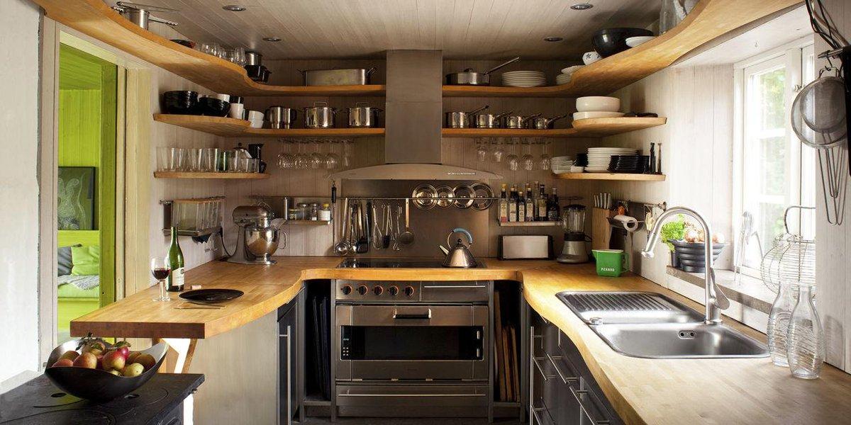 Elle Decor On Twitter 12 Inspiring Small Kitchens Httpt