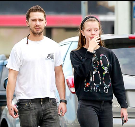 Actor Shia Lebeouf again spotted wearing a #Buoniconti Fund to #cureparalysis shirt http://t.co/PxCgJrB6f8