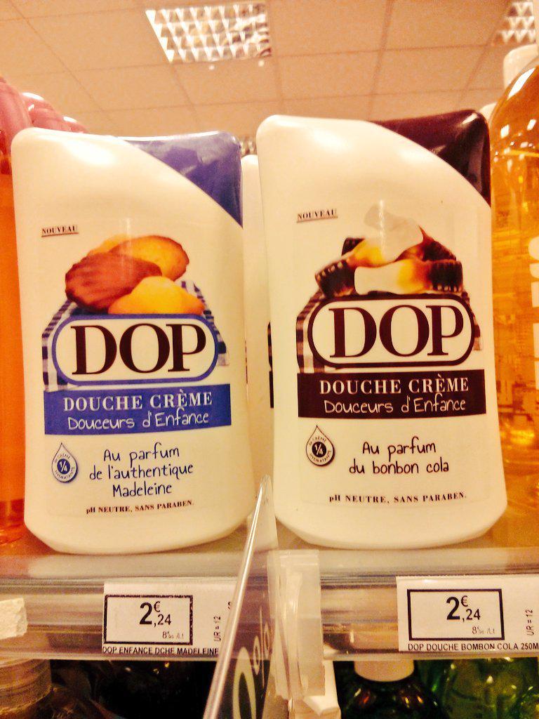 Si ce type de marketing agressif continue je vais vraiment finir par manger du gel douche... #Dop