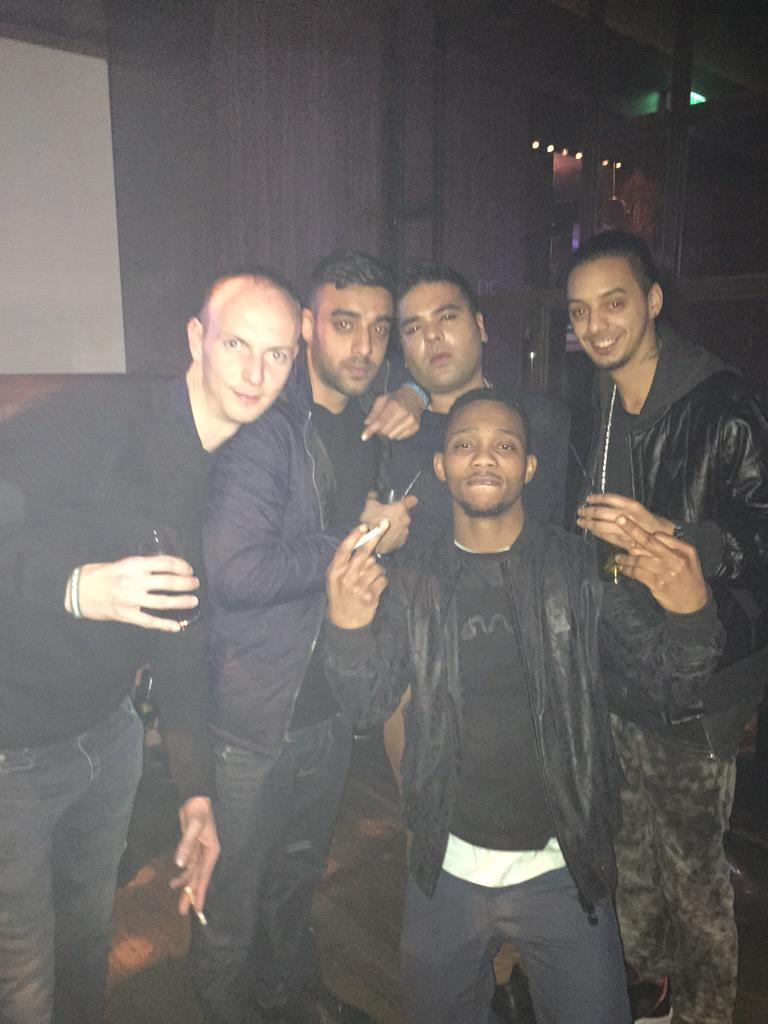 In Amsterdam turnt the f**k up for my cousins Craig's bachelor party @NaughtyBoyMusic @shakavelimusic pj and Brian http://t.co/SrsxakpwgD