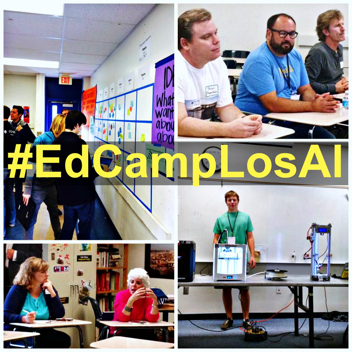 #EdCampLosAl was a huge success!!! Thanks to @shareTED, @dabennett7, and @LosAlamitosUSD for making it possible :) http://t.co/OXSLhnTgmz
