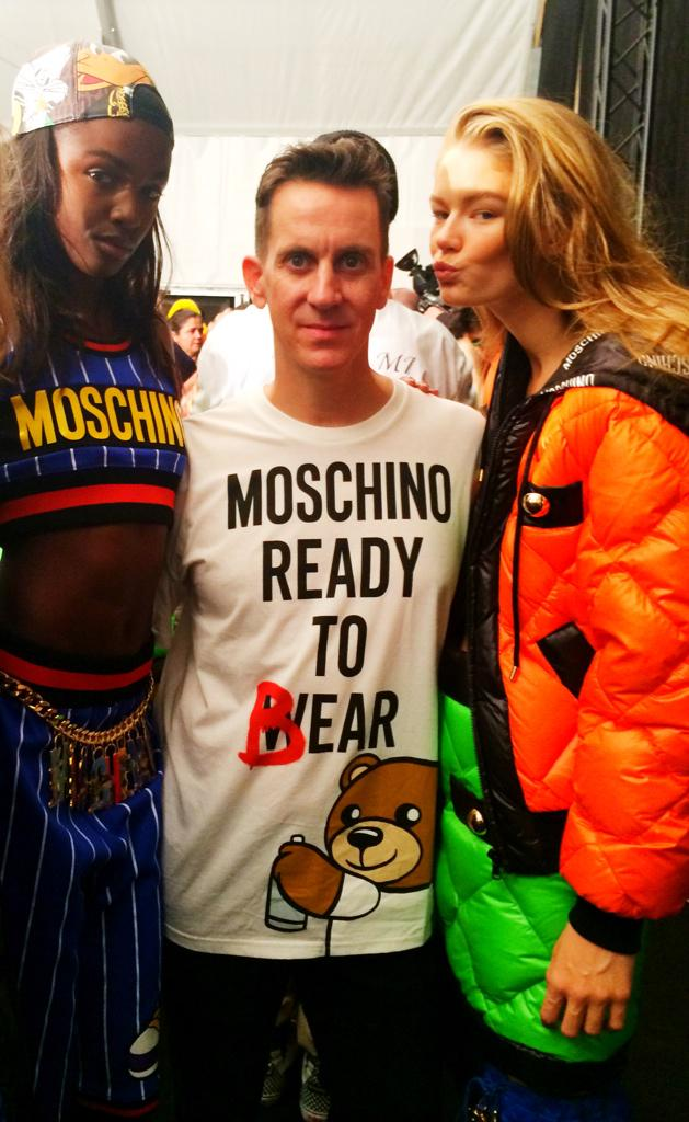 NEW VIDEO UP: backstage access to the @Moschino show!  http://t.co/ETjh96UPKM  RT http://t.co/aFCiPbW0ku