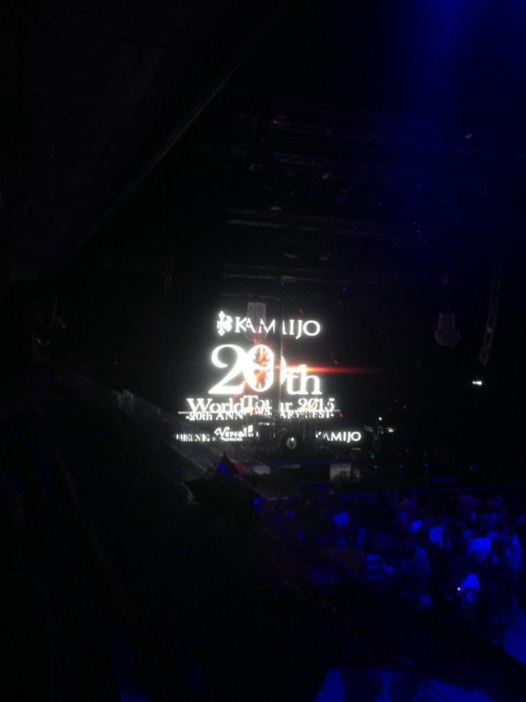 #kamijoworldtour2015 http://t.co/AZRvSiU3Q3