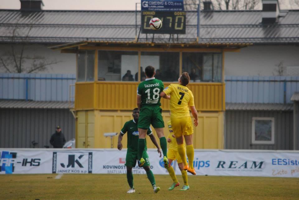 Lazevski gets up for Olimpija