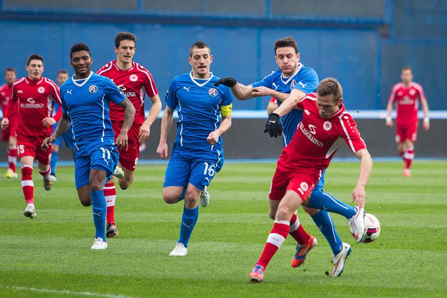 Ademi was back in action for Dinamo Zagreb