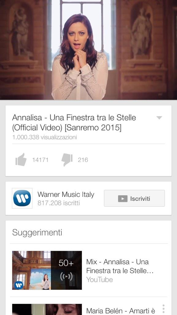 "Francesca Romagnuolo on Twitter: ""@WARNERMUSICIT @NaliOfficial ..."
