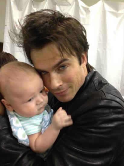 Paul Wesley As A Baby