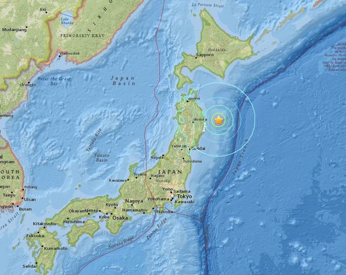 Giappone: scienziati temono forte terremoto come nel 2011