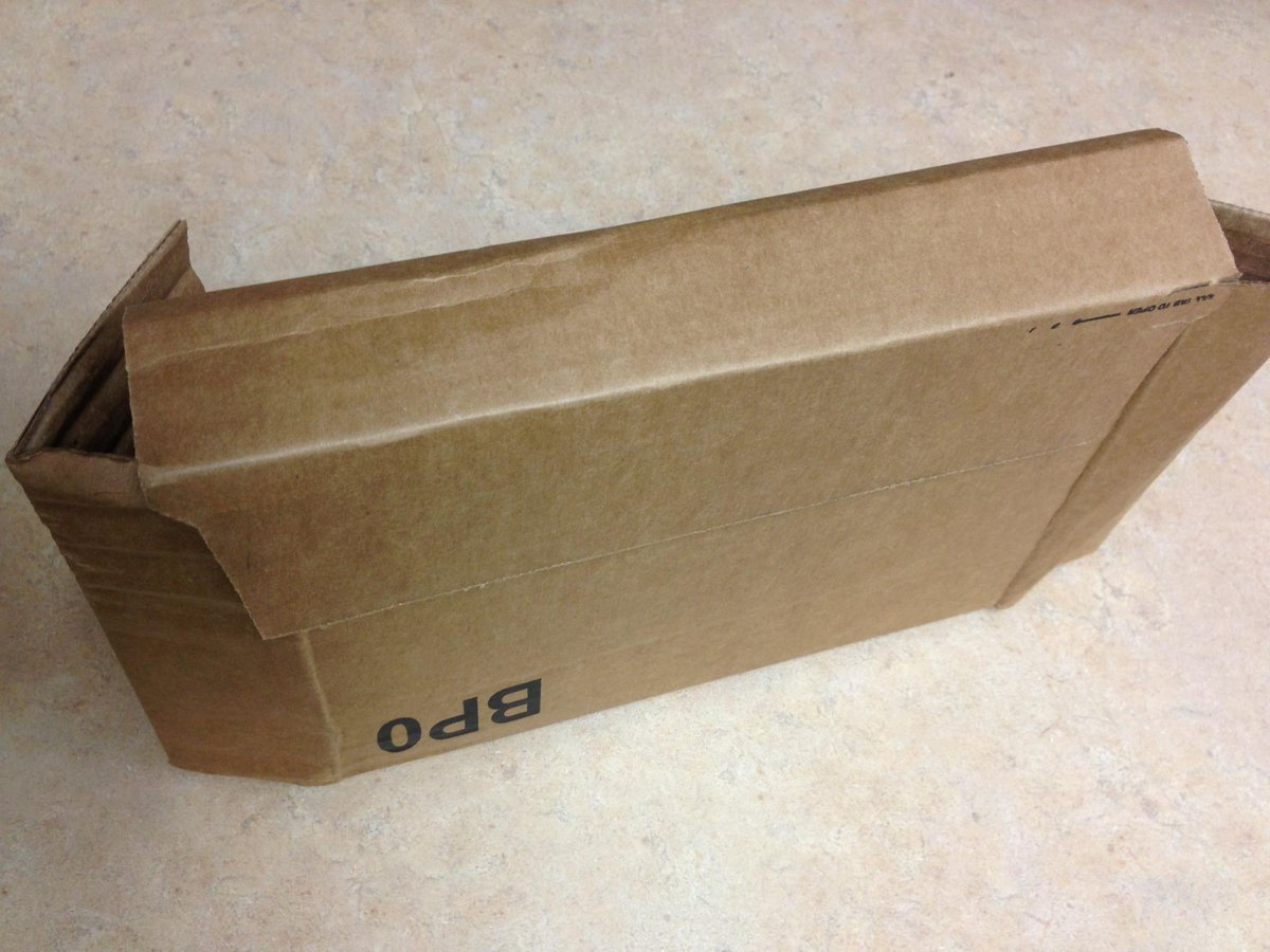 Jonathan jow on twitter i was delivered an empty box by usps jonathan jow on twitter i was delivered an empty box by usps for an amazon order box was unopened except the sidewalls came loose sciox Gallery