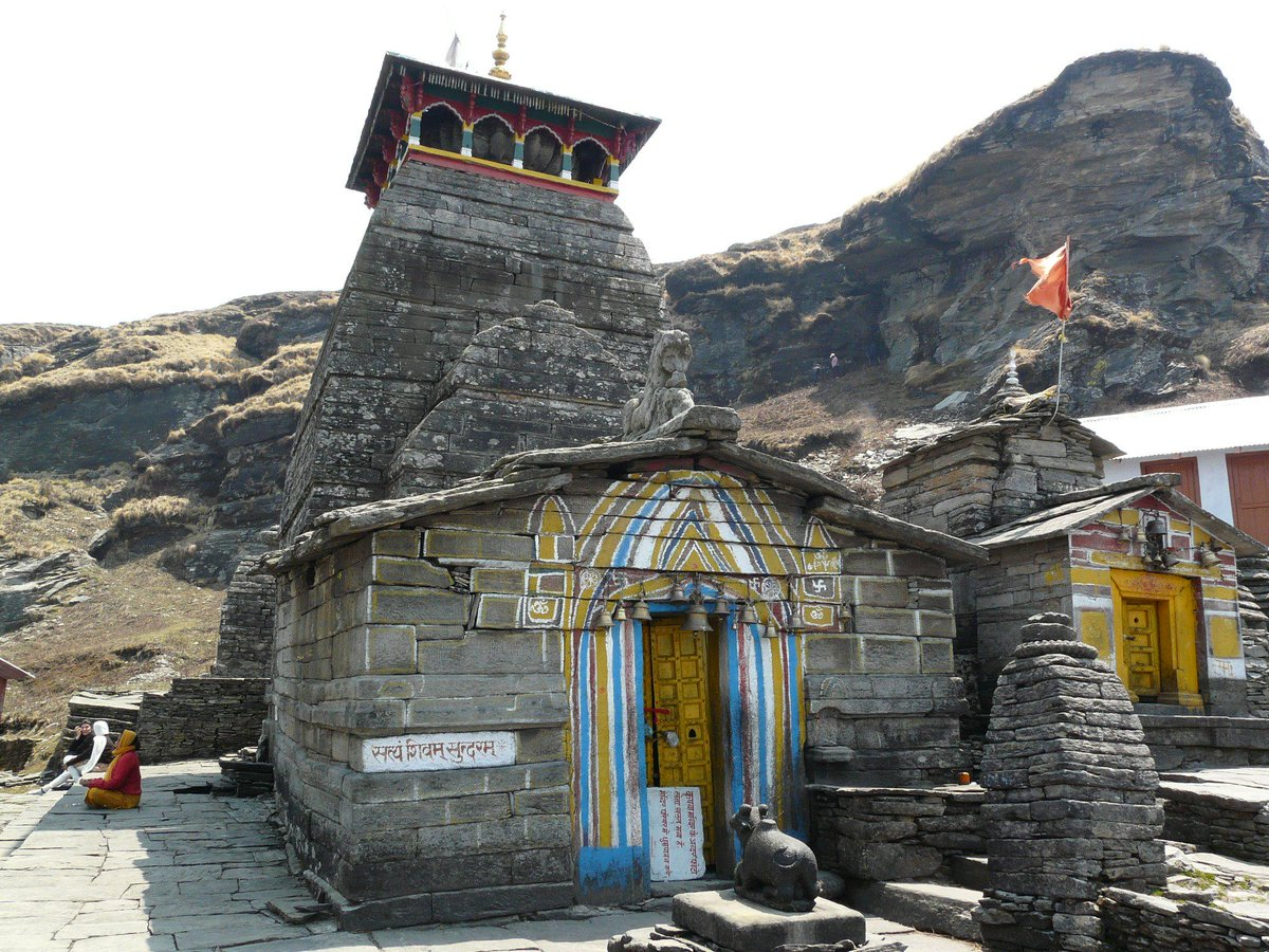 Tungnath is the highest Shiva temple in the world and is one of the five  Panch Kedar temples #Mustvisit http://t.co/6NHT44Z3B1