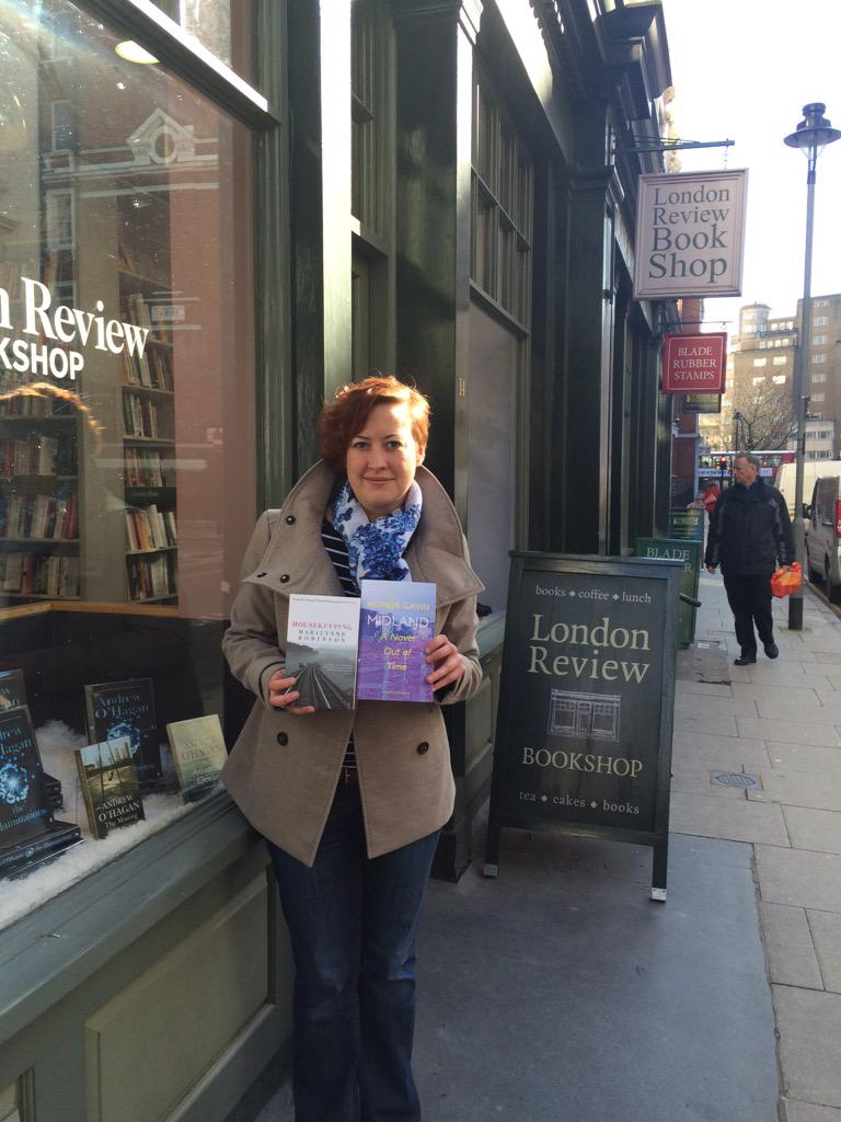 Really am trying my best to enforce the one book rule on @katarinabivald but @LRBbookshop booksellers won this time http://t.co/rcUKzNs9ak