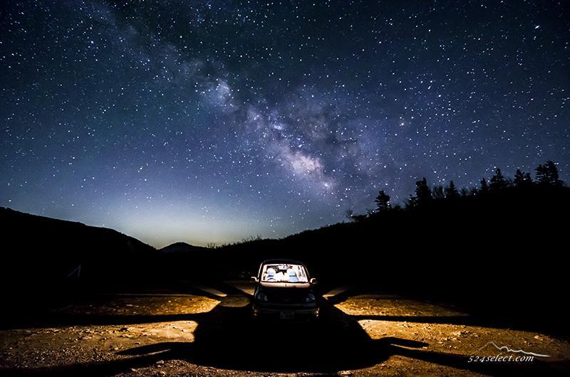 風景写真ブログ:星空の見える峠で車と天の川を撮影 #twitterでプラネタリウム #ファインダー越しの私の世界 http://t.co/lvY3xBEcHx http://t.co/Fb1k2w7u1P