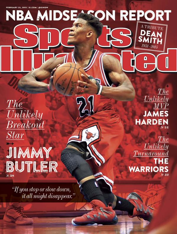 Jimmy Butler Covers Sports Illustrated