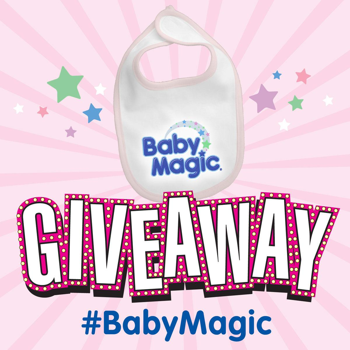 Retweet this for a chance to win a Baby Magic bib! #BabyMagic We'll announce the winner tomorrow. http://t.co/2xxRK1tSFu