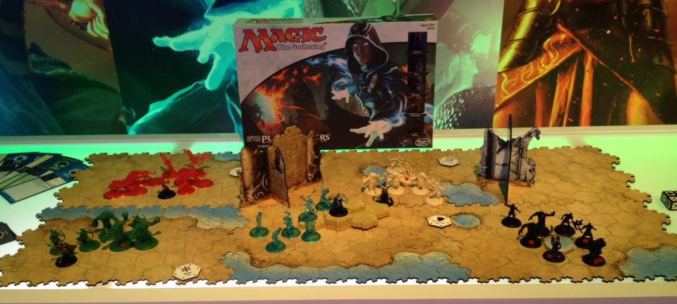 """BoardGameGeek on Twitter: """"ICYMI here's Magic: The ... Planeswalker Arena Board Game"""