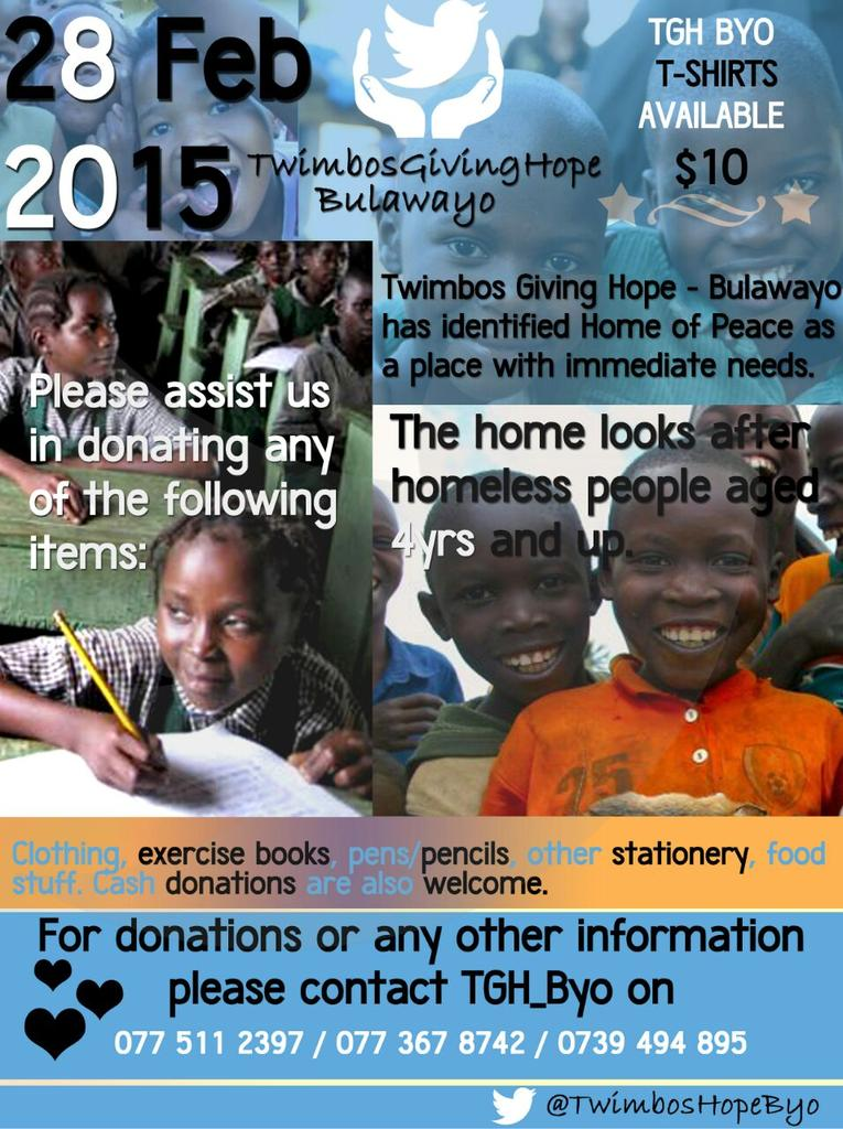 For all those in Bulawayo we nid u to help us make a difference in smeones life thru e #TwimbosGivingHope initiative http://t.co/SuiLz8fZ0X