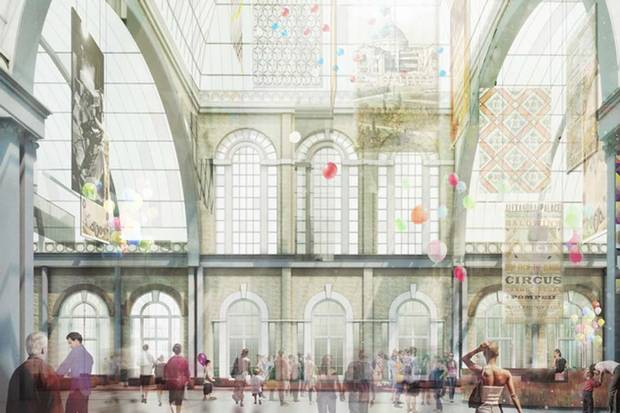 RT @standardnews: This is what Alexandra Palace could look like after refurbishment http://t.co/0x72upjgXN http://t.co/YmuJO6eFbY