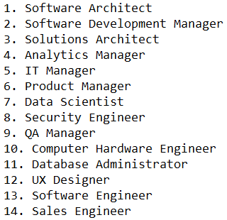 Here are the highest-paying U.S. tech jobs http://t.co/4OQTyU5GI3 http://t.co/yshTjxEUhy