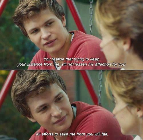 """Movie Quotes ♡ on Twitter: """"The Fault in Our Stars http ..."""