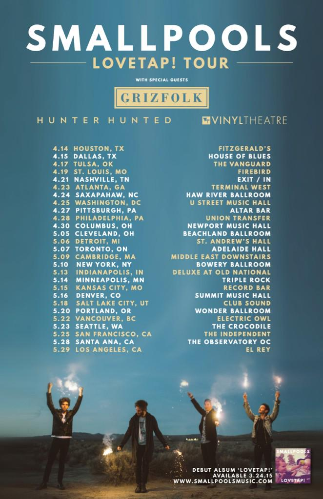 smallpools tour dates grizfolk
