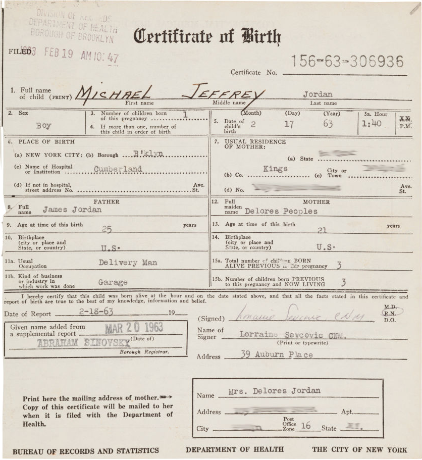 Michael Jordan Was Born 52 Years Ago Today. Here's A Copy