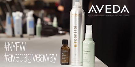 2 more days to win! RT this image by 11:59pm ET for a chance to win our #NYFW #AvedaGiveaway! http://t.co/tNXEoFVN7h http://t.co/8RuVASpba7