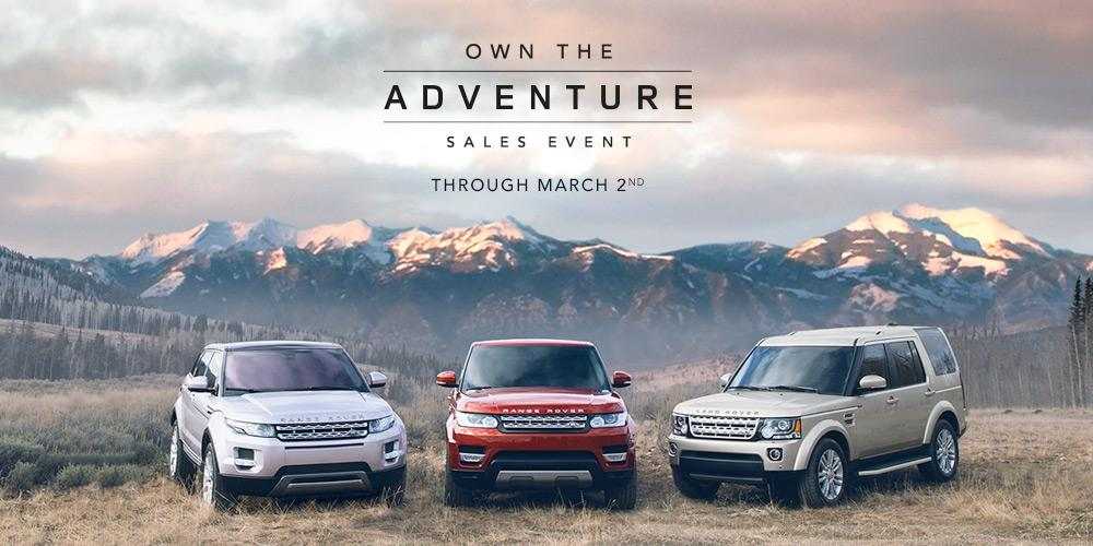 land rover canada on twitter create your own unforgettable adventures at the land rover own. Black Bedroom Furniture Sets. Home Design Ideas