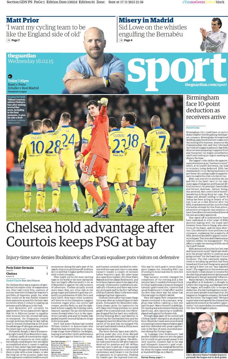 Champions League - Paris Saint-Germain vs Chelsea - Page 3 B-FIQOuCMAAhplQ