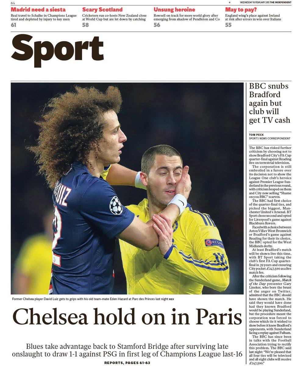 Champions League - Paris Saint-Germain vs Chelsea - Page 3 B-FJqgPCMAA2spC