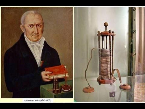 Alessandro Volta e le sue invenzioni