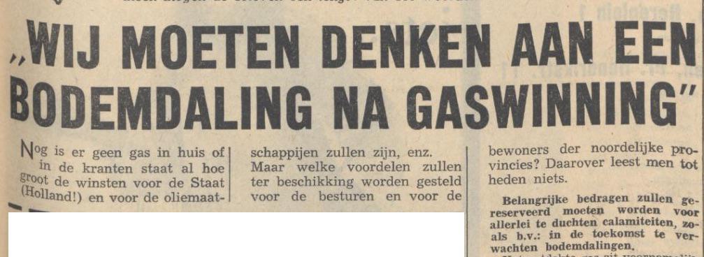 Voorspelling uit 1963: problemen door gaswinning. NAM wist het zelf ook. Reconstructie op http://t.co/CEdofV68DQ http://t.co/TPhI8ziiDS